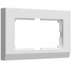 Рамка для двойной розетки (белый) W0081801