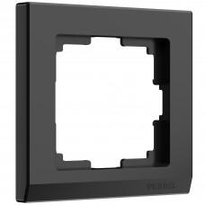 Рамка на 1 пост (черный) W0011808