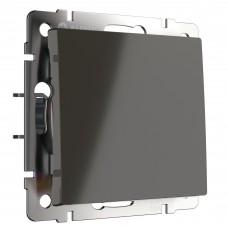 Выключатель одноклавишный (серо-коричневый) WL07-SW-1G WERKEL