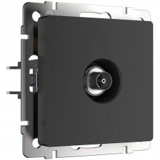 ТВ-розетка оконечная (черный матовый) W1183008