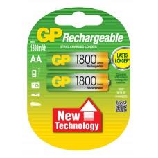 Аккумулятор GP AA 1800mAh 2BP AA/R6/Пальчиковая