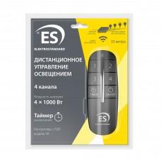 4-канальный контроллер для дистанционного управления освещением Y8 Elektrostandard