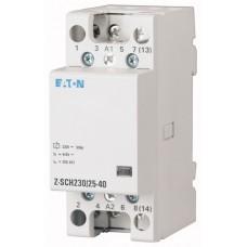 Контактор Z-SCH230/25-04, 4NC, 25А/(9A по AC-3), 230VAC, 2M