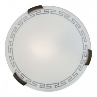 261 SN 105 Светильник стекло E27 2*100Вт D400 GRECA