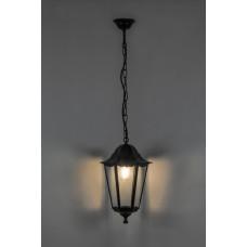 Светильник садово-парковый Feron 6105 шестигранный на цепочке 60W E27 230V, черный