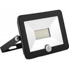 Светодиодный прожектор SAFFIT с выносным датчиком SFL80-20 IP65 20W 6400K черный