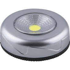 Светодиодный светильник-кнопка Feron FN1204 (1шт в блистере), 2W, серебро