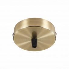 SL001.303.01 Потолочное крепление на одну лампу (круглое) ST-Luce Бронза