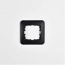 Рамка 1-ая горизонтальная б/вст чёрный бархат (20шт/240шт) KARINA LIFE