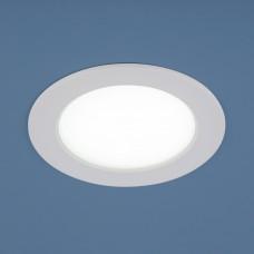 Встраиваемый точечный светодиодный светильник 9911 LED 6W WH белый Elektrostandard